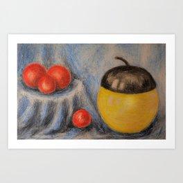 still life - drawing Kunstdrucke
