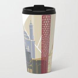 Cairo skyline poster Travel Mug