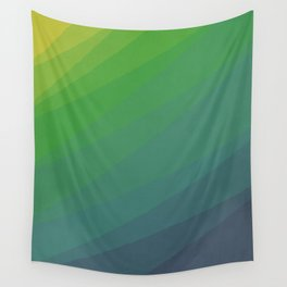 Shades of Deep Water Wall Tapestry