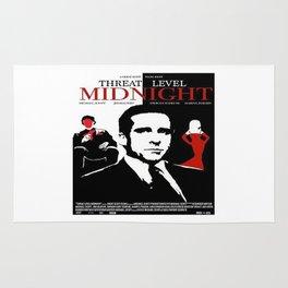 Threat Level Midnight Movie Rug