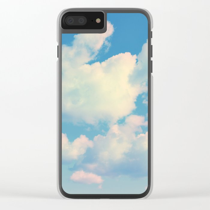The Colour of Clouds 04 Clear iPhone Case