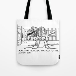 Audrey II - Little Shop of Horrors - Cartoon - Drawing Tote Bag