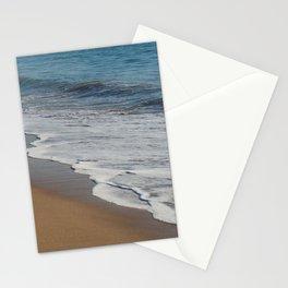 Beach Sea Foam - ocean photography Stationery Cards