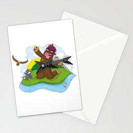 Bigfoot Rocks! Stationery Cards