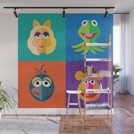Muppet Minimalism Wall Mural