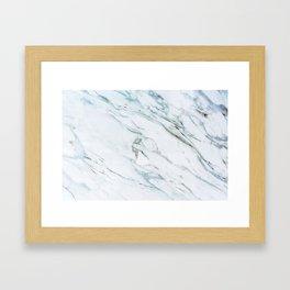 Marble Me Framed Art Print