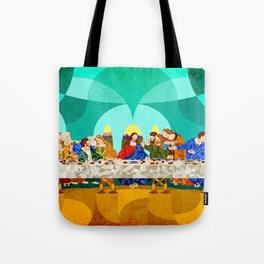Curves - Last Supper Tote Bag