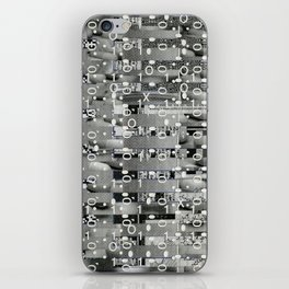Knowing Wink (P/D3 Glitch Collage Studies) iPhone Skin