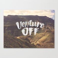 Venture Off Canvas Print