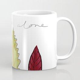 Leaf me Alone Coffee Mug