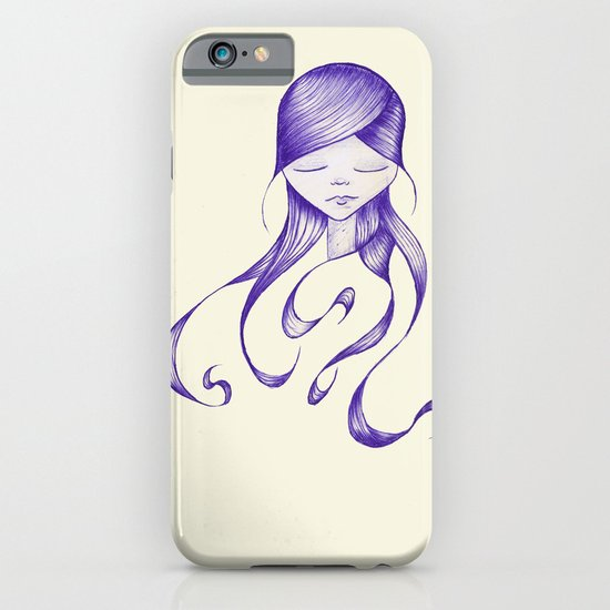 Feeling Blue iPhone & iPod Case