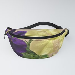 Dreams and Sophistica Petunias Fanny Pack