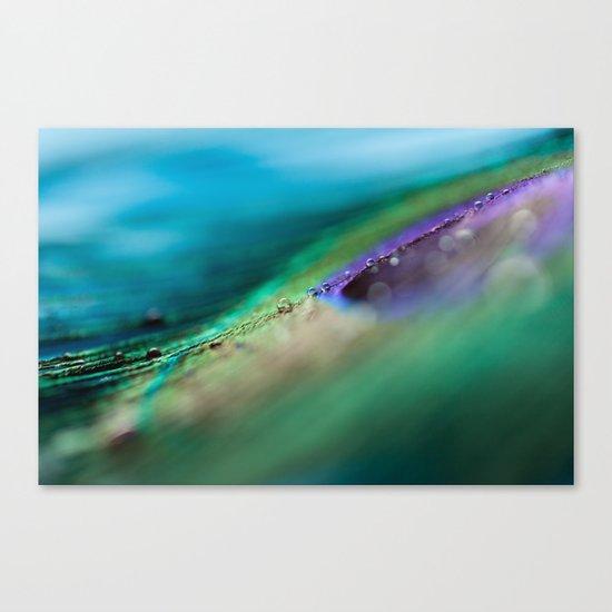 Through The Waves Canvas Print