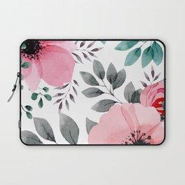 FLOWERS WATERCOLOR 14 Laptop Sleeve