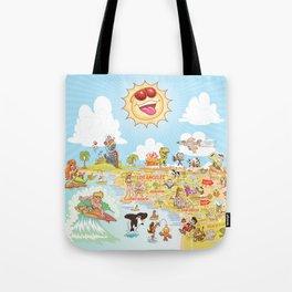 Southern California Beach Paradise Tote Bag