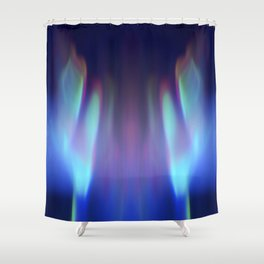 Heavenly lights in water of Life-1 Shower Curtain