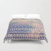 contact Duvet Covers featuring Substitution by Mason Denaro