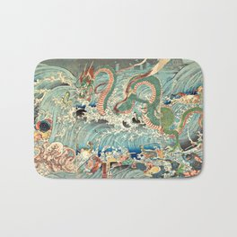 Dragon King Bath Mat