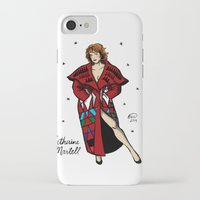 martell iPhone & iPod Cases featuring Catherine Martell Pin-up by Emma Munger