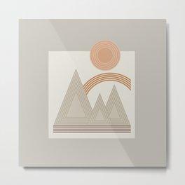 Mountain Rainbow_Sienna Metal Print
