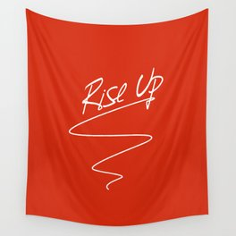 Rise up - Anti Trump Protest Art Wall Tapestry