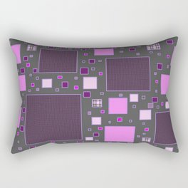 Squarely Normal Rectangular Pillow
