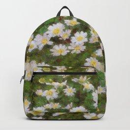 Daisies In Spring Backpack