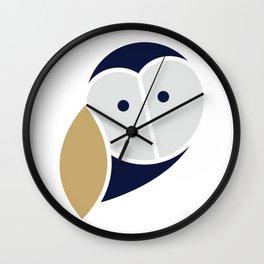 Thoughtful Wise Owl Wall Clock