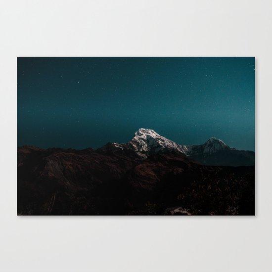 Dark Mountains #society6 #buyart Canvas Print