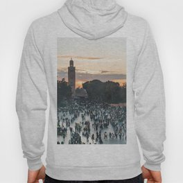 Sunset - Jemaa el-Fnaa, Marrakech Hoody