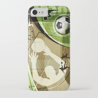soccer iPhone & iPod Cases featuring Soccer by Robin Curtiss