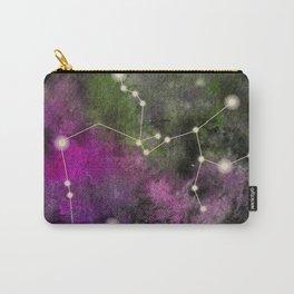 Watercolor Zodiac Sagitarius Galaxy Carry-All Pouch