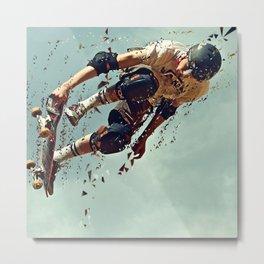 skate board 6 Metal Print