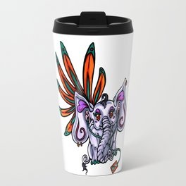 Elephant Dance Travel Mug