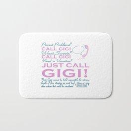 JUST CALL GIGI! Bath Mat