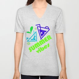 Summer And Holiday Vibes Unisex V-Neck