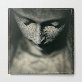 Angel Looking Down Metal Print