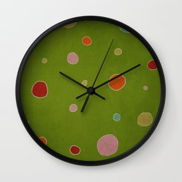 Christmas Paper Wall Clock