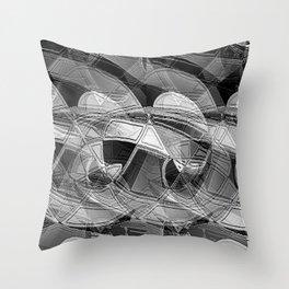 Turbulent Times Throw Pillow