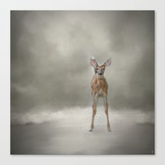Stand Strong Little Fawn - Deer - Wildlife Canvas Print