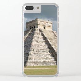 Chichen Itza, El Castillo 2 Clear iPhone Case