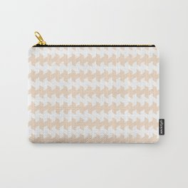 jaggered and staggered in linen Carry-All Pouch