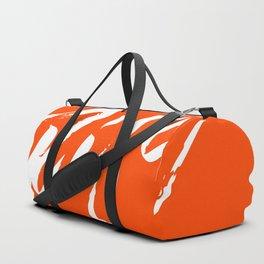 A Rebellious Rise - White Duffle Bag