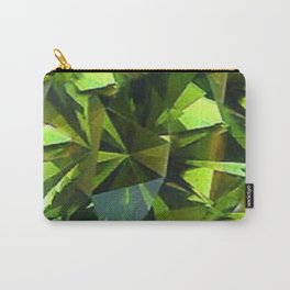 AUGUST BABIES GREEN PERIDOT BIRTHSTONE GEM Carry-All Pouch