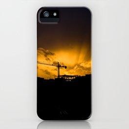 Summer Construction iPhone Case