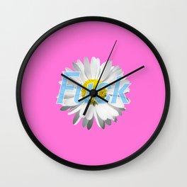 F*ck Wall Clock