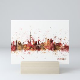 Toronto Canada Skyline Mini Art Print