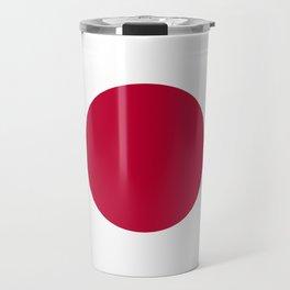 Japanese Flag Travel Mug