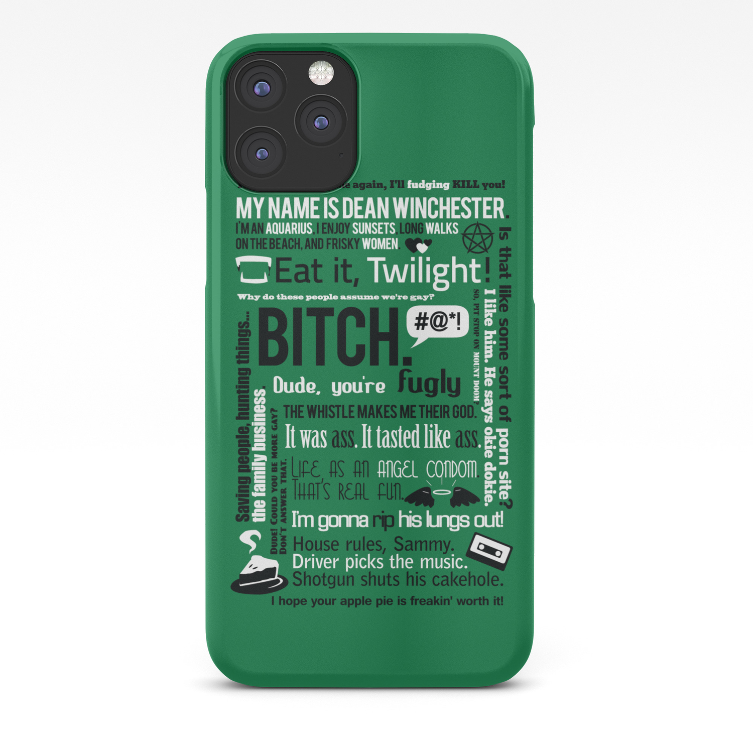 cover iphone 11 dean winchester