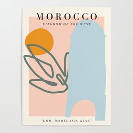 Morocco Exhibition Poster